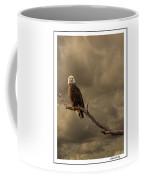 Bald Eagle Storm Coffee Mug