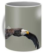 Bald Eagle Textured Art Coffee Mug