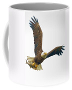 Bald Eagle With Fish Coffee Mug