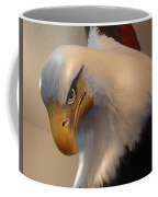 Bald-headed Eagle Sculpture Coffee Mug