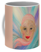 Bald Is Beauty With Brown Eyes Coffee Mug