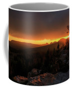 Bald Mountain Sunset Coffee Mug