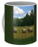 Bales In The Field Coffee Mug