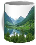 Balestrand Lake Village Coffee Mug