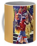 Bali Barong And Kris Dance  - Paint Coffee Mug