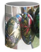 Bali Wooden Eggs Artwork Coffee Mug