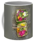 Balinese Offering Baskets Coffee Mug