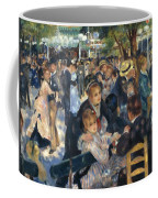 Ball At The Moulin De La Galette 1876 Coffee Mug
