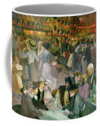 Ball On The 14th July Coffee Mug by Theophile Alexandre Steinlen