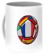 Ball With Flag Of France In The Center Coffee Mug