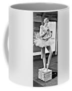 Ballerina B W Coffee Mug