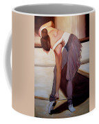 Ballerina Bending Over Coffee Mug