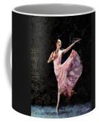 Ballerina Dancing Expressive Coffee Mug