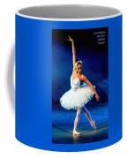 Ballerina On Stage L A Nv Coffee Mug