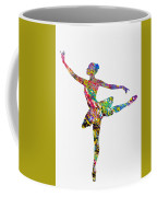 Ballet Dancer-colorful Coffee Mug