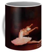 Ballet Dancer In White  Coffee Mug