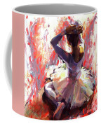 Ballet Dancer Siting  Coffee Mug