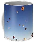 Balloon Fiesta On White Sands National Monument, September 19, 2 Coffee Mug