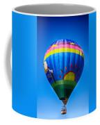 Balloon Over Wine Country Coffee Mug