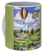 Ballooning In The Country One Coffee Mug