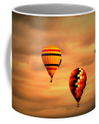Balloons In The Morning Coffee Mug