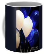 Balloons Of Blue And White Coffee Mug