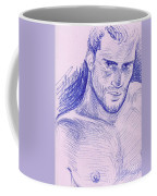 Ballpointpenportrait Coffee Mug