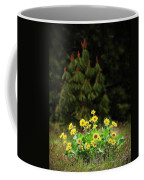 Balsamroot And Evergreen Coffee Mug
