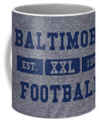 Baltimore Colts Retro Shirt Coffee Mug