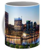 Baltimore Inner Harbor Reflections Coffee Mug