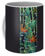 Bamboo And Birds Of Paradise Coffee Mug