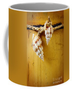 Bamboo And Conches Coffee Mug by Carlos Caetano