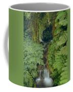 100837-bamboo And Ferns Creek  Coffee Mug