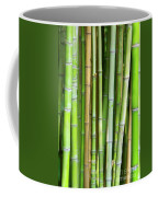Bamboo Background Coffee Mug by Carlos Caetano