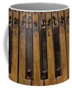 Bamboo Organ Keys Coffee Mug