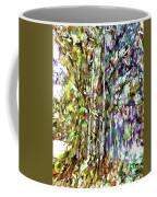 Bamboo Trees In Park Coffee Mug