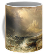 Bamborough Castle Coffee Mug by Willliam Andrews Nesfield