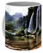 Ban Gioc Vietnam's Most Beautiful Waterfall  Coffee Mug