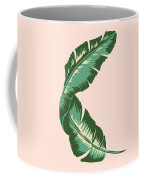Banana Leaf Square Print Coffee Mug