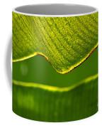 Banana Leaf Lines Coffee Mug
