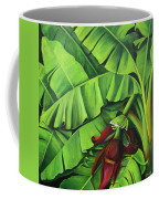 Banana Tree Flower Coffee Mug