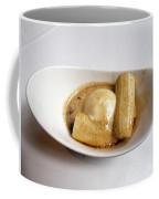 Bananas Foster In A White Dish Coffee Mug