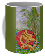 Bananas On A Plate Coffee Mug