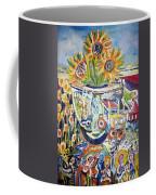Band 4 Sunflowers Three Coffee Mug