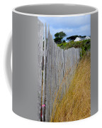Bandon Beach Fence Coffee Mug