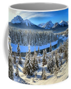 Banff Bow River Valley Coffee Mug
