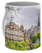 Bank Of Scotland And Skyline Edinburgh Coffee Mug