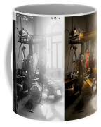 Banker - Worth Its Weight In Gold 1917 Side By Side Coffee Mug