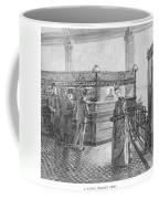 Banking, 19th Century Coffee Mug