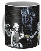 Banksy - Failure To Communicate Coffee Mug